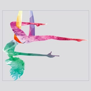 Aerial Yoga Acrobatic Sport Aerialist Gym Wall Art